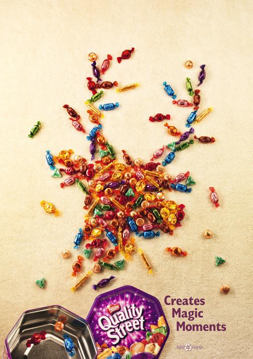 Новогоднее - Рождественский креатив в рекламе. Изображение № 15.
