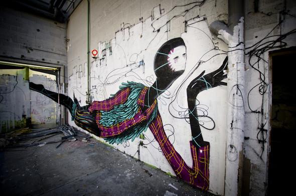 Стрит-арт от Iemza. Изображение № 20.