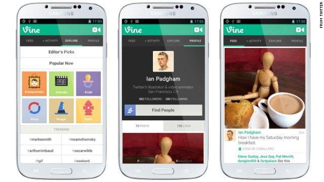Vine теперь доступен для Android-устройств. Изображение № 1.