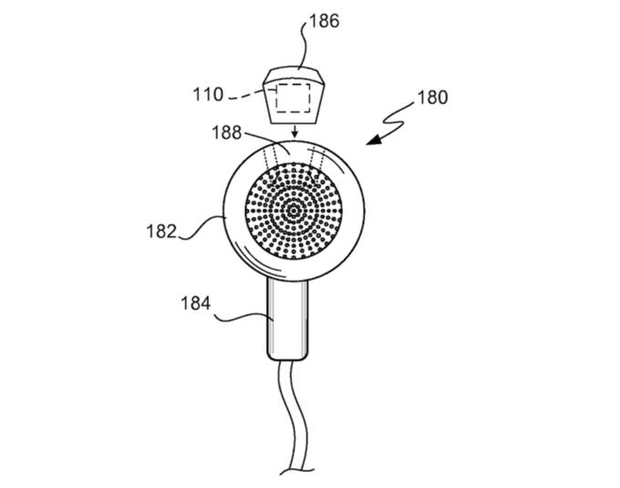 Apple запатентовала смарт-наушники для занятий спортом . Изображение № 2.