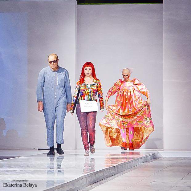 Fashion-перфоманс от SKIF Fashion. AURORA FASHION WEEK Russia SS13. Изображение № 15.