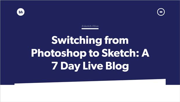 Ссылка дня: дизайнер со стажем вPhotoshop переходит наSketch. Изображение № 1.