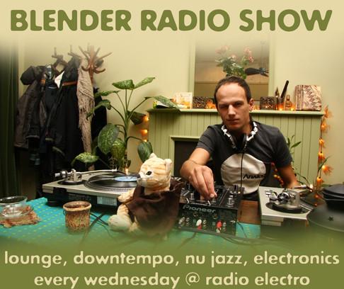 Blender Radio Show live @ Radio Electro [каждую среду]. Изображение № 1.