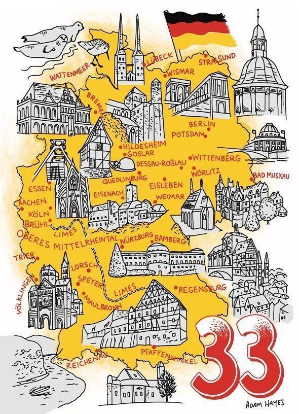 Карта Германии. Изображение № 5.