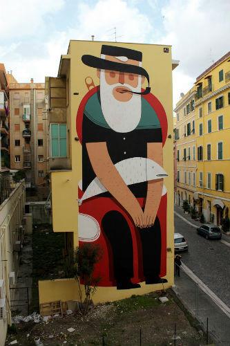 Лучшие стрит-арт проекты 2011 года. Изображение №9.