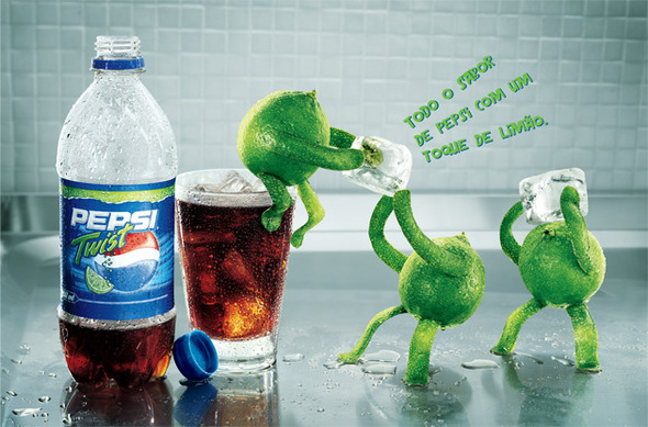 Alexandre Ermel. Реклама Pepsi Twist. Изображение № 7.