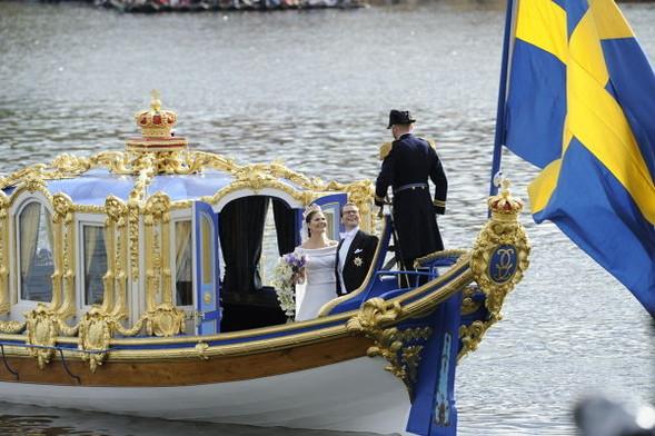 Свадьба шведской кронпринцессы Виктории. Изображение № 4.