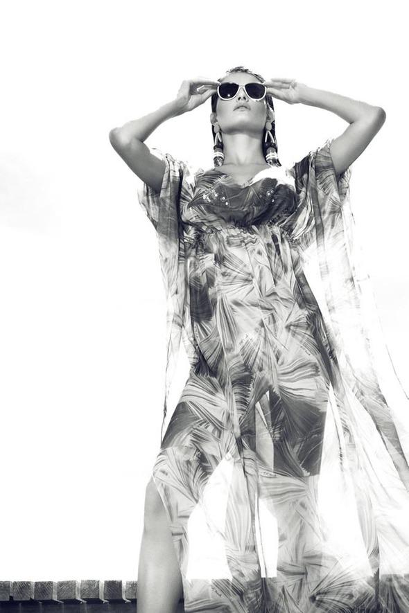 Изабели Фонтана в новой фотосессии Жака Декекера . Изображение № 6.