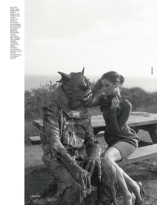 Новые съемки Dazed & Confused, Vogue, i-D и W Magazine. Изображение № 42.