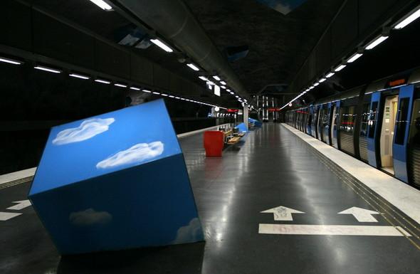 Шведский метрополитен. Изображение № 13.