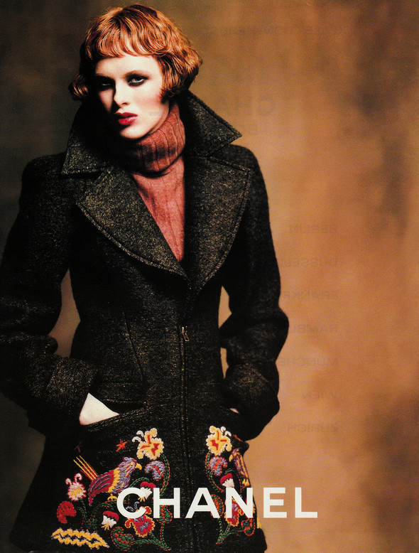 Архивная съёмка: Карен Элсон для кампании Chanel за 1997 год. Изображение № 7.