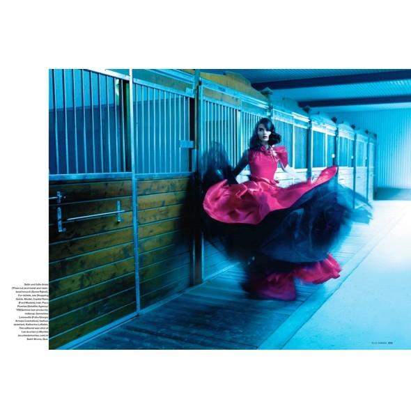 Новые съемки: Elle, Marie Claire, Vogue и другие. Изображение № 9.