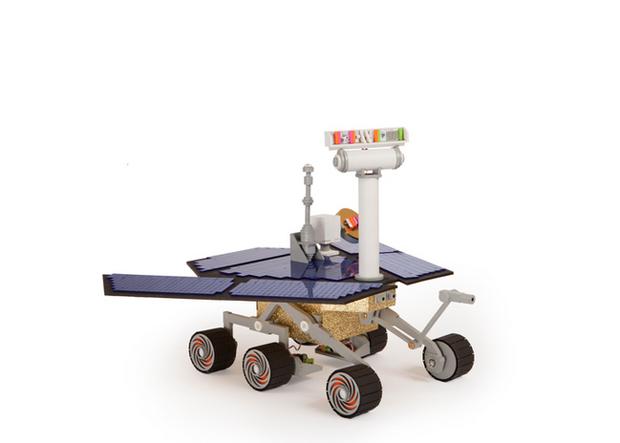 NASA предлагает желающим построить Mars Rover. Изображение № 1.