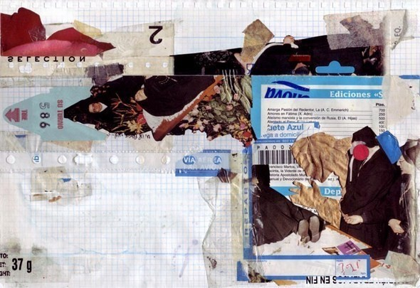 Изображение 35. Выставка: International Weird Collage Show.. Изображение № 35.