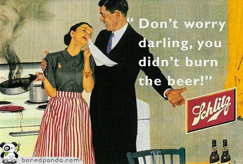 Винтажная реклама, которая бы сегодня оказалась под запретом. Изображение № 12.