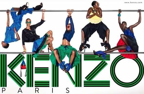 Кампания: Kenzo SS 2012. Изображение № 3.