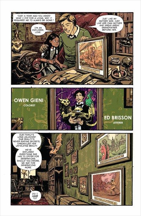«Никаких зомби и супергероев»: Интервью с создателями комикса Shutter. Изображение № 9.