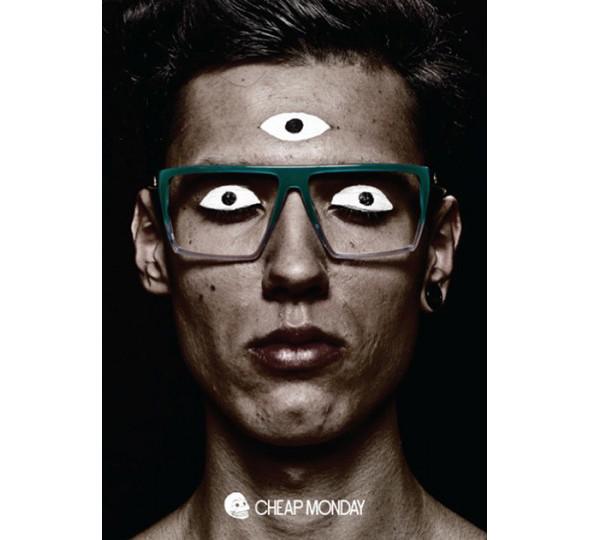 Изображение 2. Glasses news: новая коллекция Cheap Monday и Агата Сноу для Mykita.. Изображение № 3.