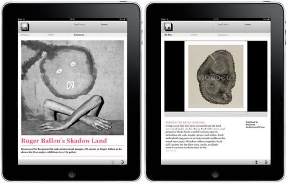 Журнал Creative Review сделал приложение для IPad. Изображение № 1.