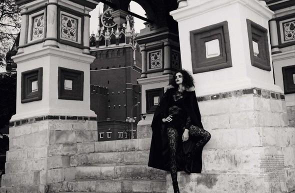 Съёмка: Фернанда Прада для Harper's Bazaar. Изображение № 7.