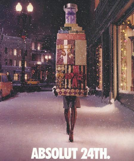 Новогоднее - Рождественский креатив в рекламе. Изображение № 3.