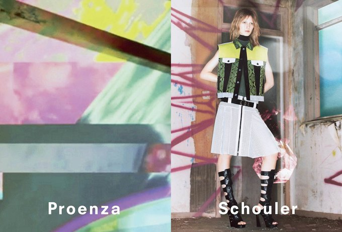 Опубликована новая кампания Proenza Schouler. Изображение № 3.