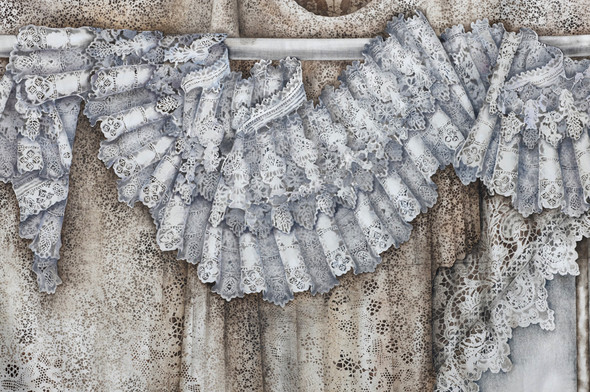 Ручная набойка по ткани: Е.А.Шнайдер и Н.Чурбакова. Изображение № 19.