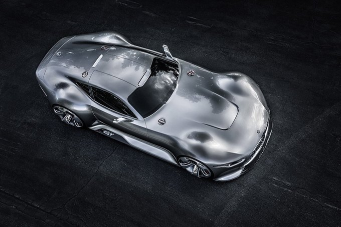 Mercedes-Benz разработала концепт спорткара для новой части Gran Turismo. Изображение № 3.