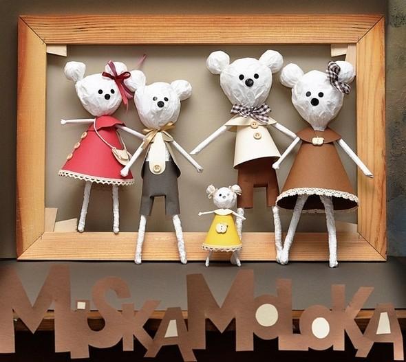 MiskaMoloka душевные игрушки ручной работы из бумаги. Изображение № 6.