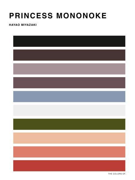 Дизайнер выбрал цвета из фильмов Миядзаки и Disney. Изображение № 7.