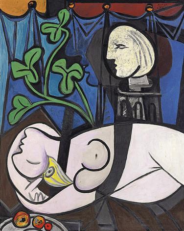 Сколько стоят сиськи Пикассо: топ самых дорогих картин Ню. Изображение № 3.
