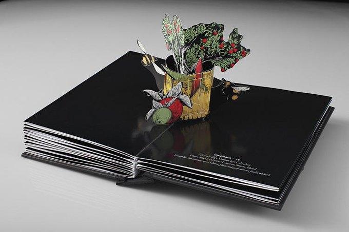 Для бара Savoy создали «трехмерное» коктейльное меню. Изображение № 8.