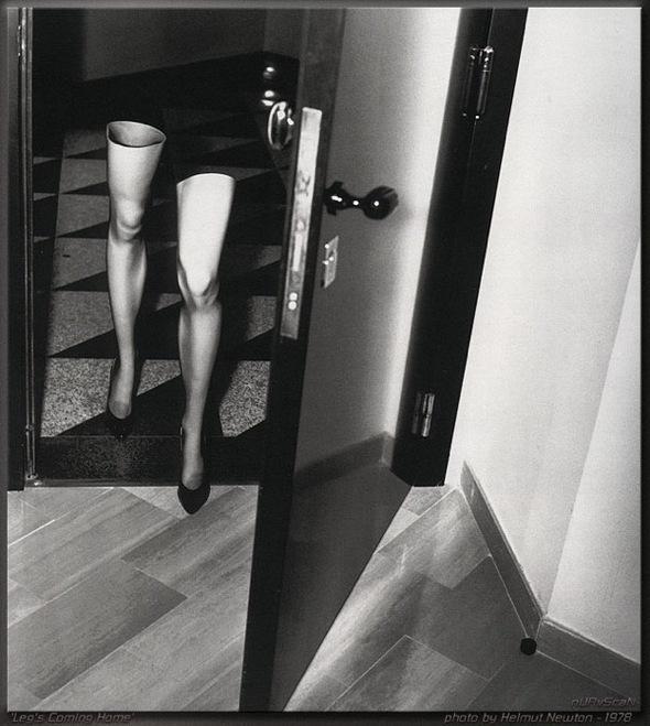 Helmut Newton-гурман женской плоти. Изображение № 19.