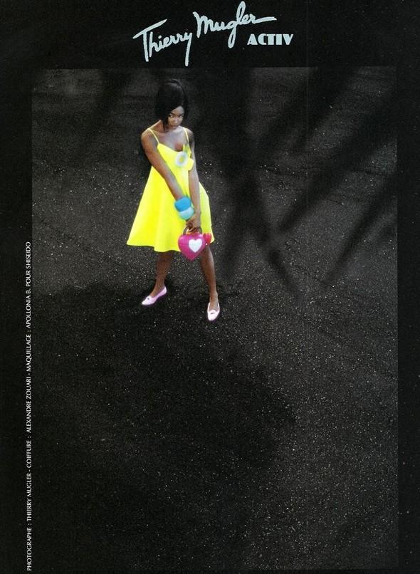Архивная съёмка: Наоми Кэмпбелл в объективе Тьерри Мюглера для Thierry Mugler 1990. Изображение № 1.
