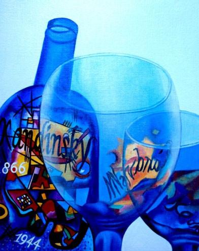 K. Madison Moore - знает толк в вине и живописи ХХ века. Изображение № 5.