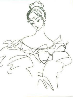 Надя Рушева. Маленькая принцесса. Изображение № 20.