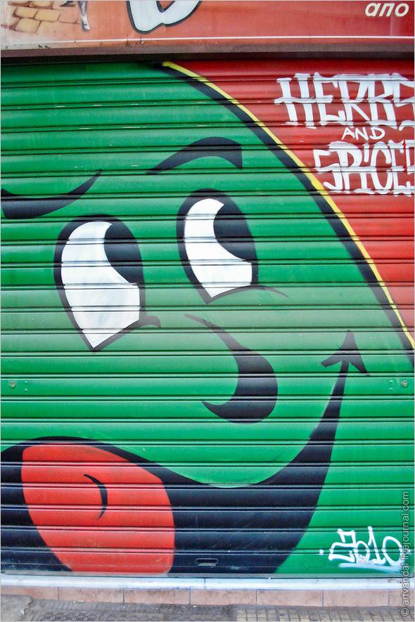 Стрит-арт и граффити Афин, Греция. Изображение № 26.
