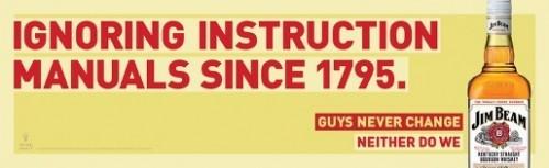 Jim Beam: Парни никогда не меняются. Изображение № 4.
