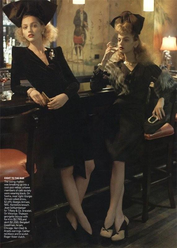 InThe Mood. Vogue US September 2009. Изображение № 12.