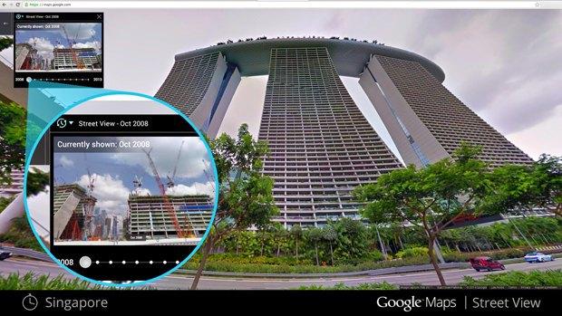 Сервис Google Maps позволил возвращаться в прошлое. Изображение № 1.