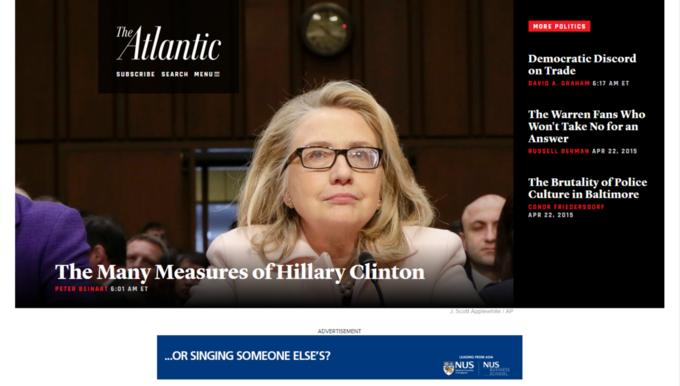 Сайт издания The Atlantic полностью обновили. Изображение № 1.