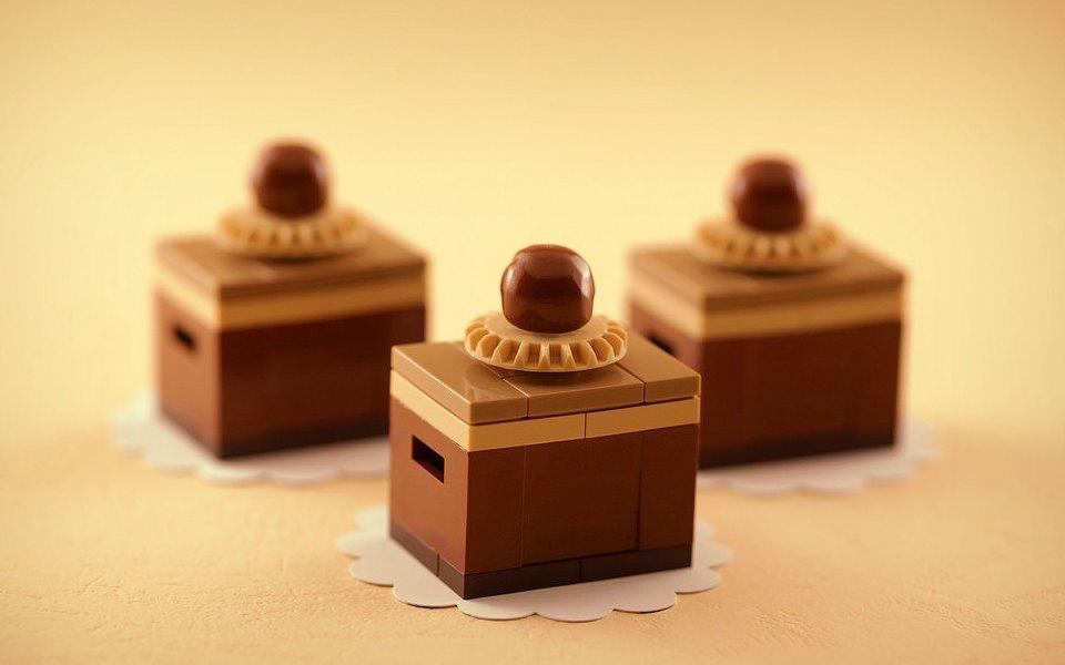 Как выглядит еда, сделанная из LEGO. Изображение № 2.