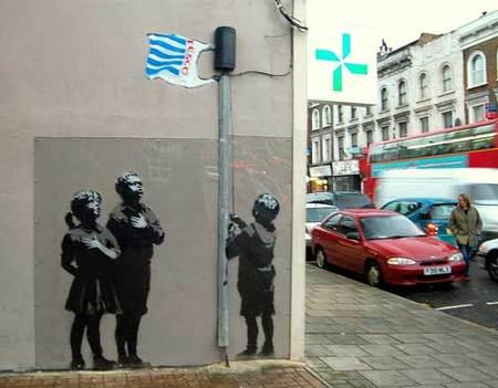 Изображение 3. Новая выходка арт-террориста Banksy.. Изображение № 3.