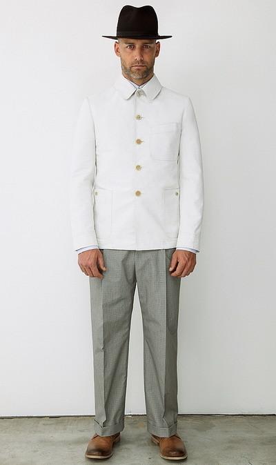 Мужская коллекция Alexander McQueen весна-лето 2010. Изображение № 1.