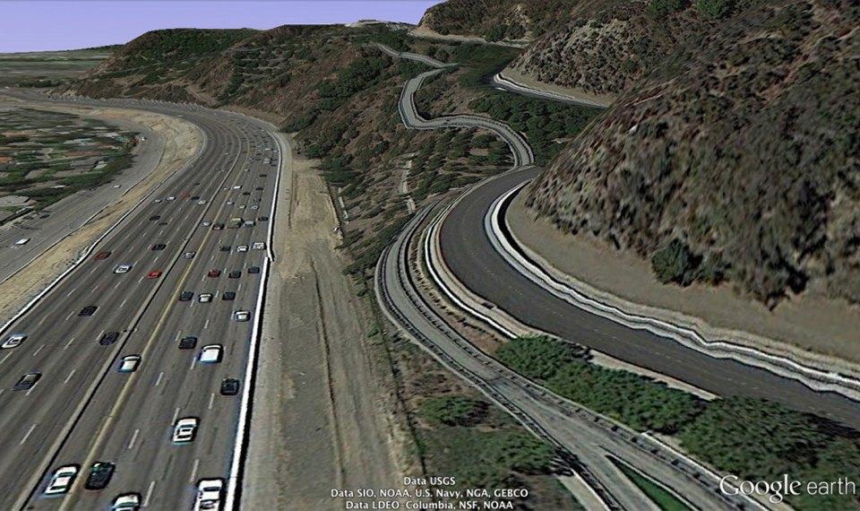 32 фотографии из Google Earth, противоречащие здравому смыслу. Изображение № 15.