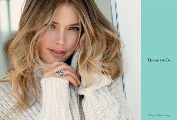 Кампания: Даутзен Крус для Tiffany & Co. Изображение № 3.