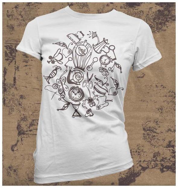 Изображение 28. Принтовые футболки.. Изображение № 28.