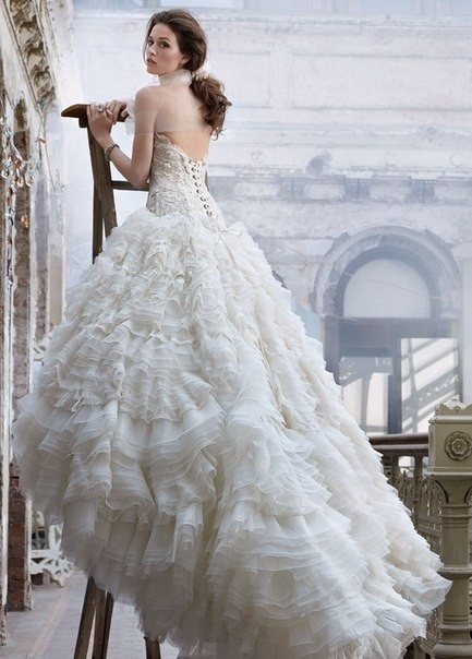 Lazaro Bridal Collection 2012. Изображение № 1.