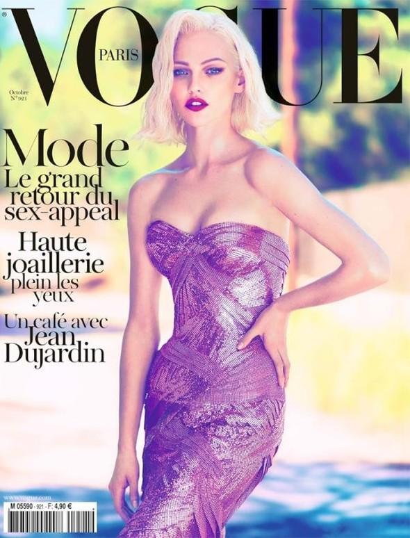 Обложки Vogue: Франция и Германия. Изображение № 1.