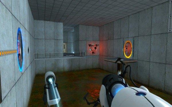 Скриншот из игры Portal. Изображение № 2.